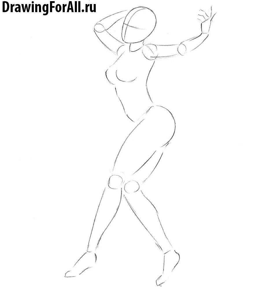 как нарисовать анну уильямс из теккена