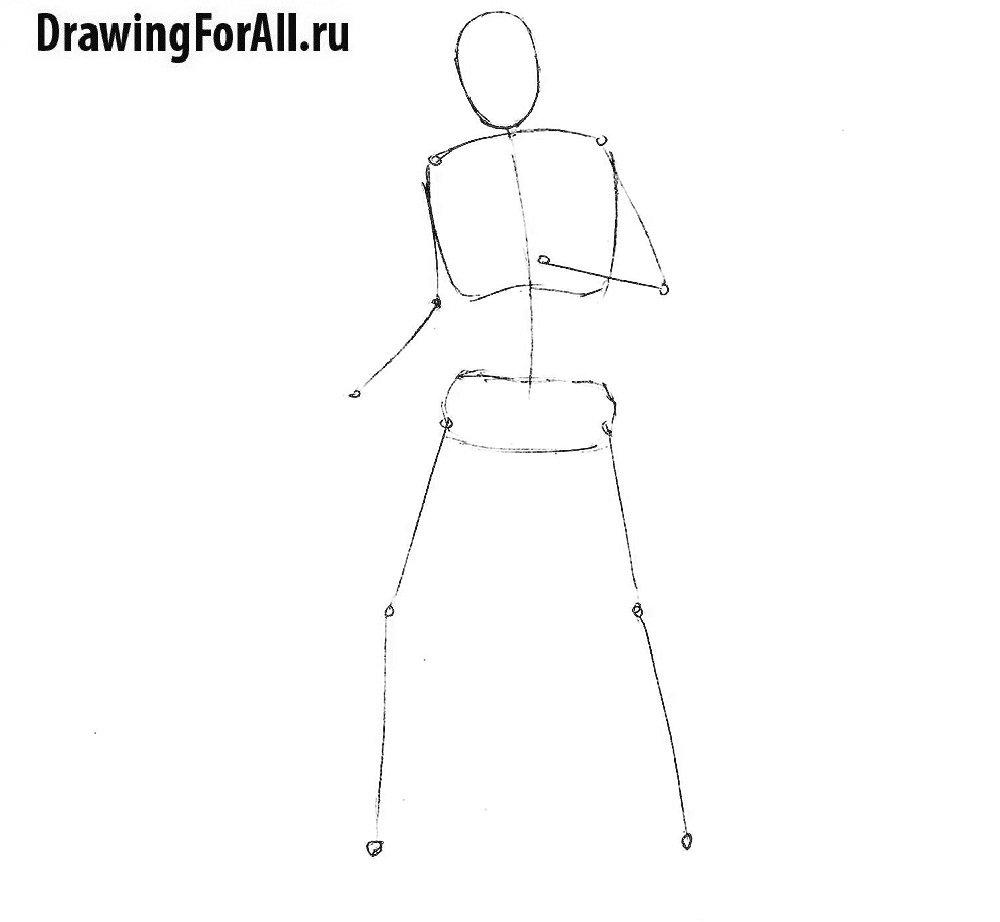 Как нарисовать ожившего мертвеца
