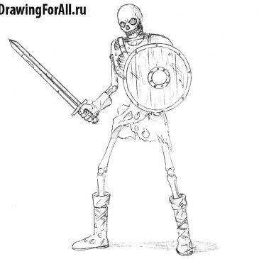 Как нарисовать нежить