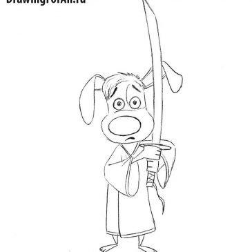Как нарисовать Сверкающего Самурая Хэнка