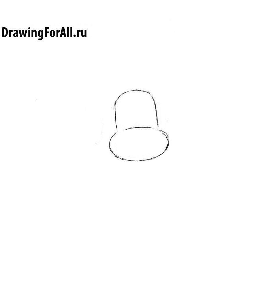 Как нарисовать Хэнка Сверкающего Самурая поэтапно