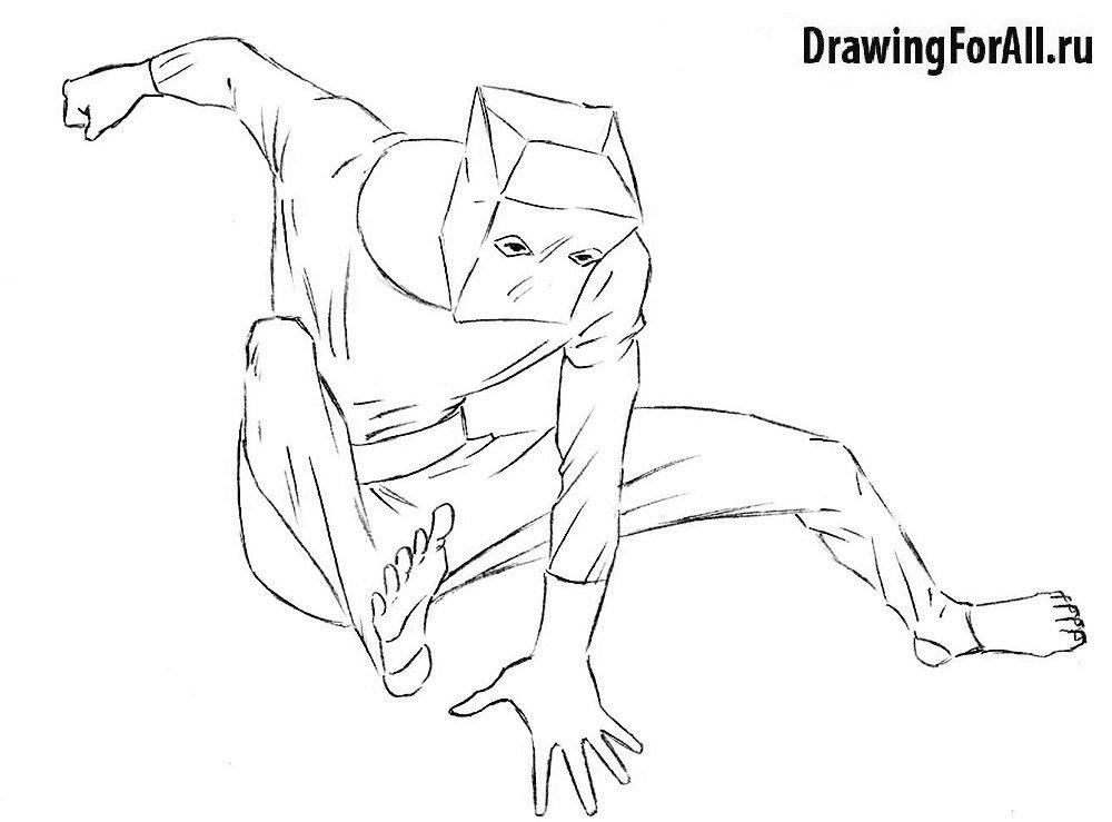 Нарисованный Человек-Пакет