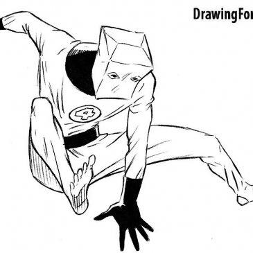 Как нарисовать Человека-Пакета