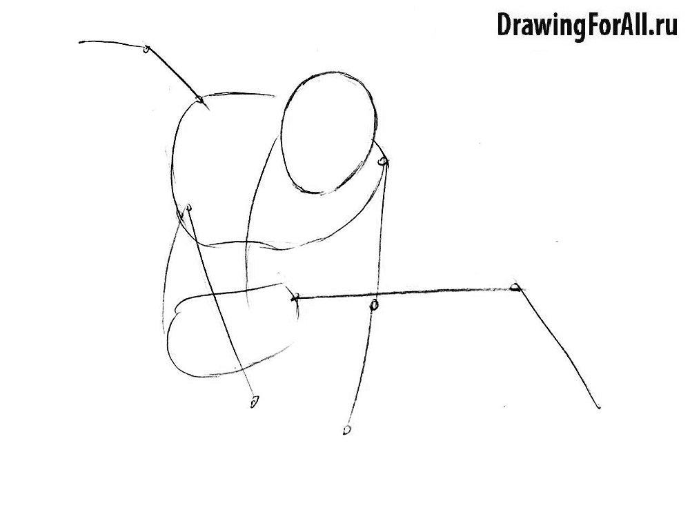 Как нарисовать героя комиксов