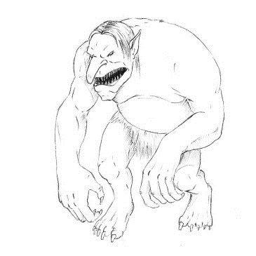 Как нарисовать Тролля
