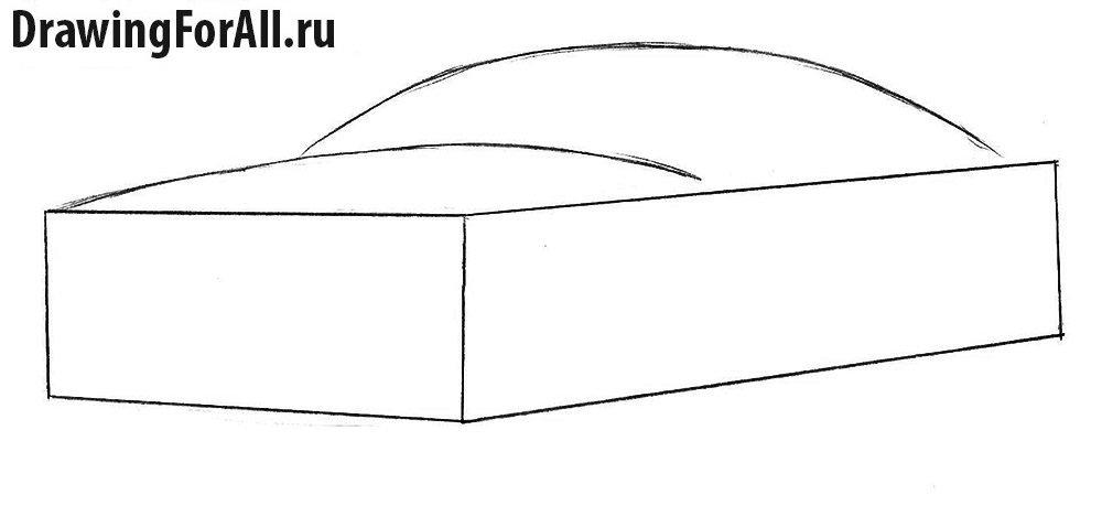 Как нарисовать Форд поэтапно