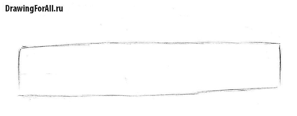 Как нарисовать ламборджини поэтапно