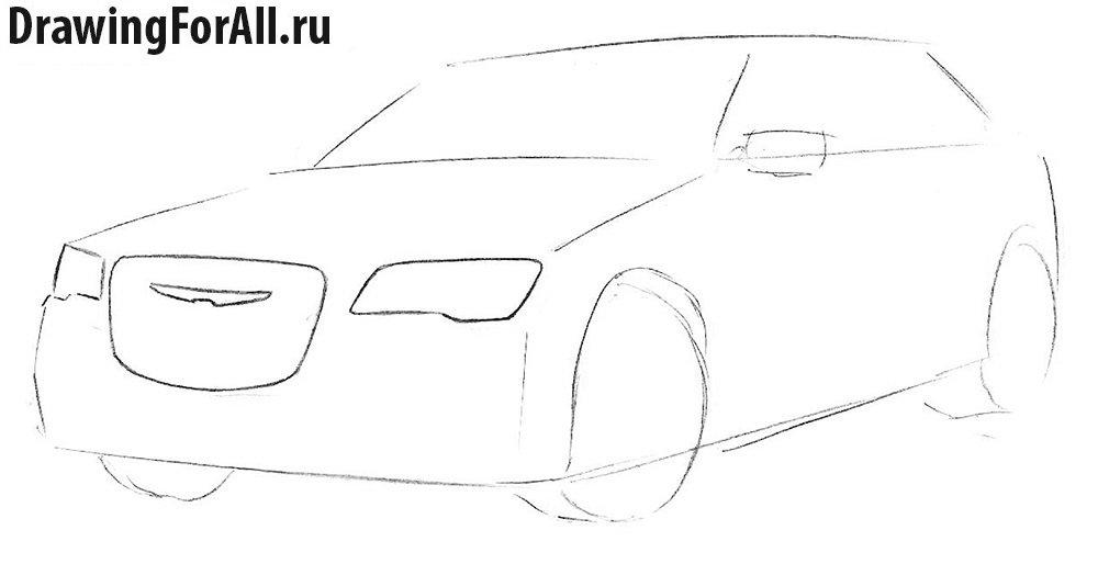 Как нарисовать авто