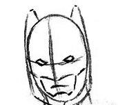 Как нарисовать маску Бэтмена