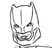 Как нарисовать Бэтмена поэтапно