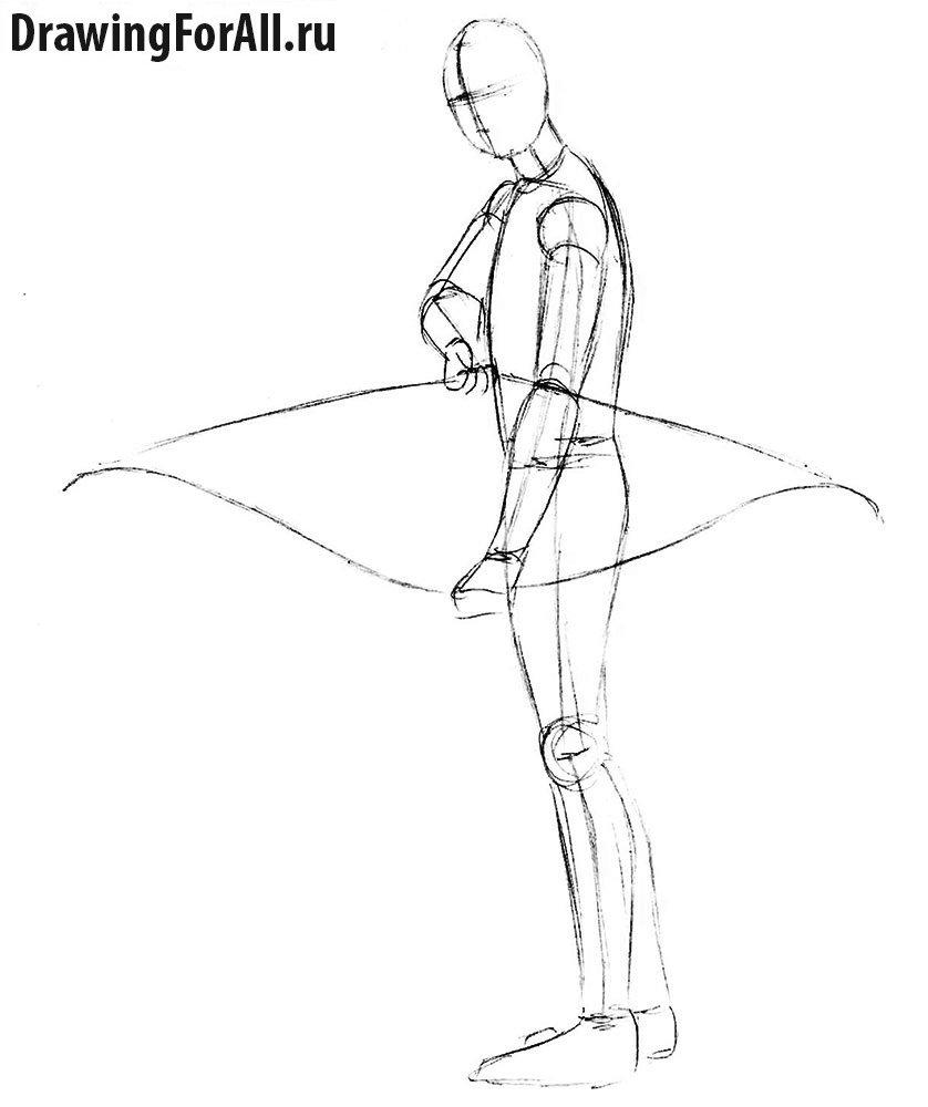 Урок рисования Леголаса