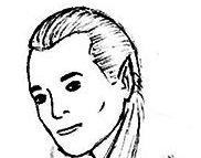 Рисуем лицо Леголаса