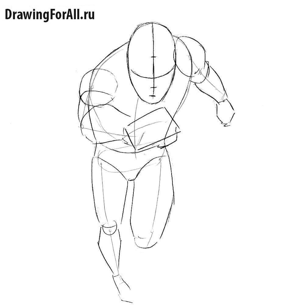 Как нарисовать Ртуть из Мстителей