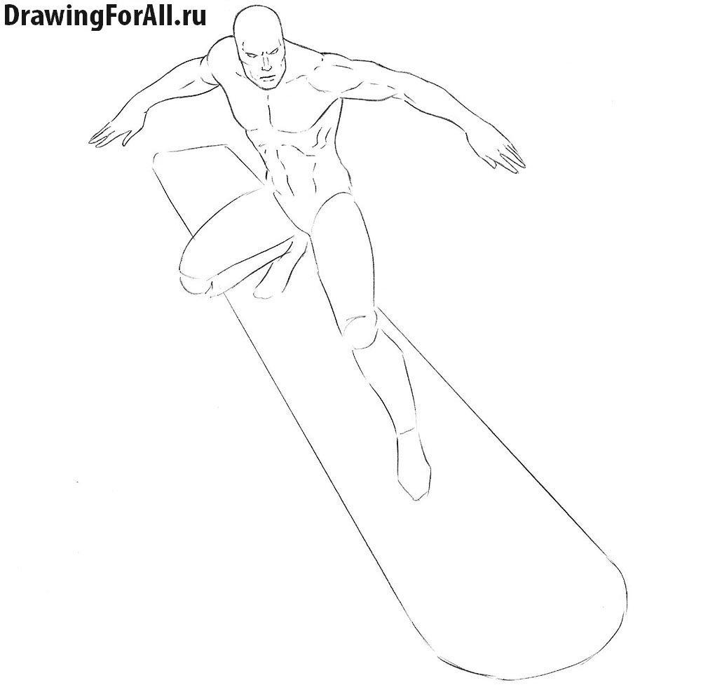 Как нарисовать героя Марвел