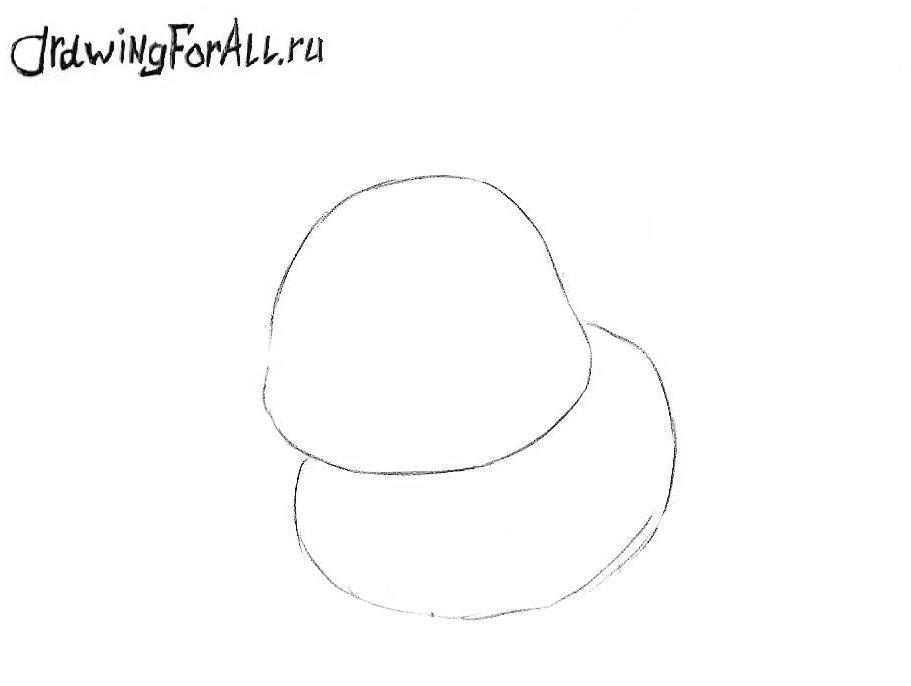 Как нарисовать супер кота Чиби