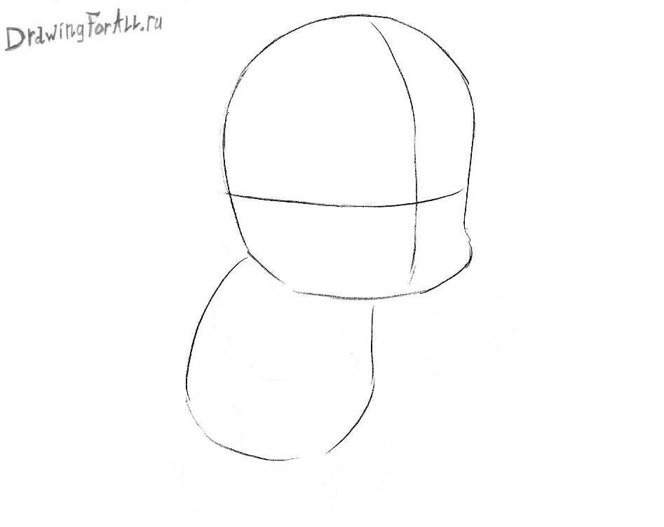 Урок рисования Чиби