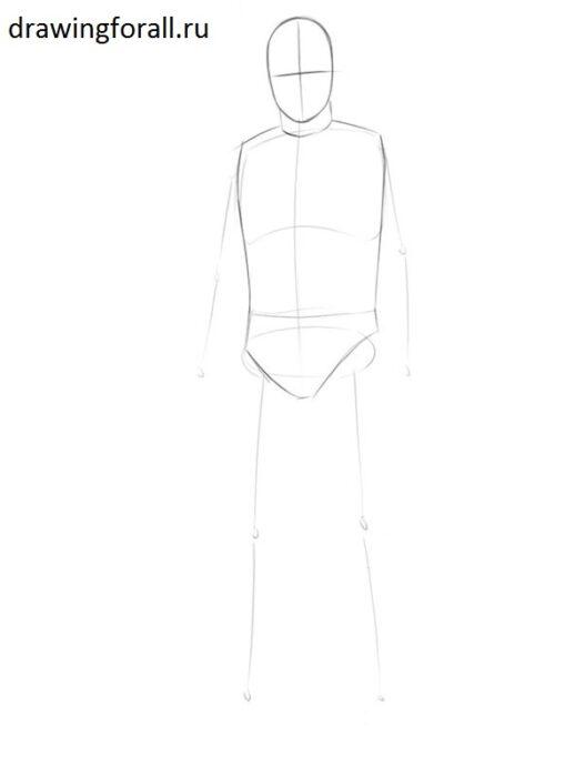 Как нарисовать принца карандашом